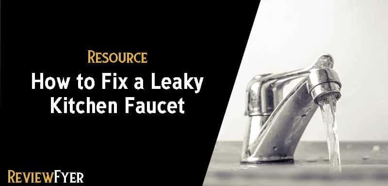 how to fix a leaky kitchen faucet - How To Fix A Leaky Kitchen Faucet
