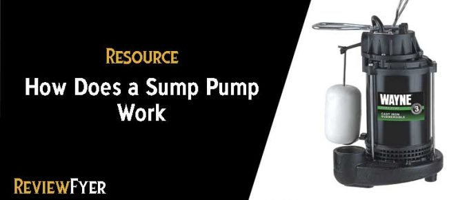 How does a sump pump work